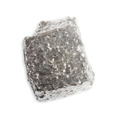2.59 carat silver colored rough diamond cube Raw Diamond South Africa
