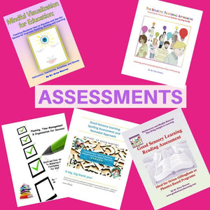 This assessment bundle, by Dr. Erica Warren, offers a discounted suite of evaluation tools, handouts, and much more for teachers and learning specialists.