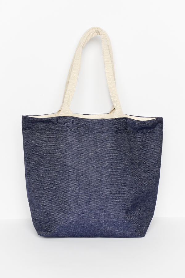 Blue Jean Tote Bag - Blue Bungalow