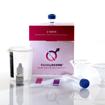 Fertilityscore home male fertility test kits