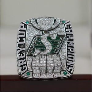 SPECIAL EDITION Saskatchewan Roughriders CFL Grey Cup Championship Ring (2013) - Premium Series