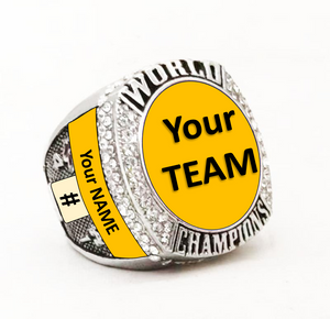 CUSTOMIZE ANY PREMIUM RING! Custom Name Ring - Premium Series - Championship Rings