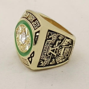 New York Jets Super Bowl Ring (1968) - Championship Rings