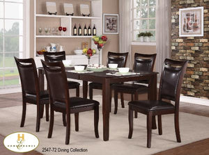 2547 7Pc. Dining Set