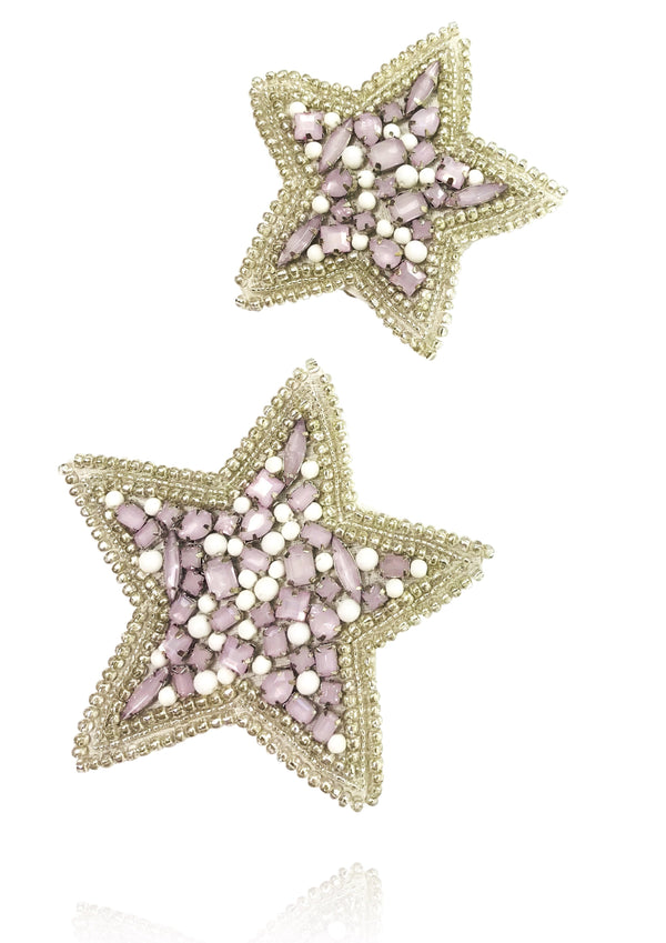 DOLLY by Le Petit Tom ® ANGELS star hair clip set of 2 - DOLLY by Le Petit Tom ®