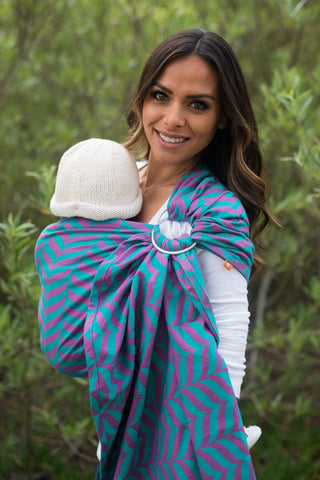 Migaloo Elated - Cotton Ring Sling