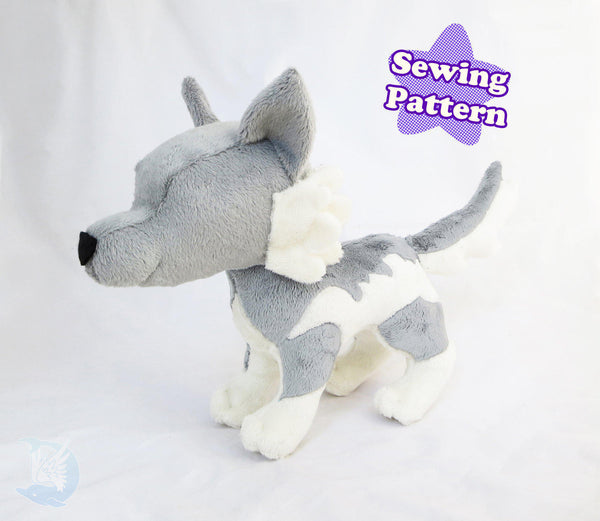 Fox and Wolf Plush Pattern Bundle PDF