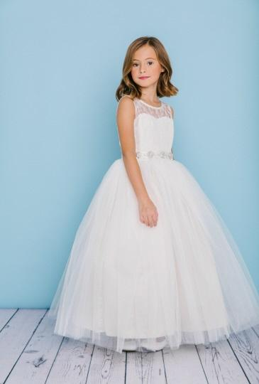 Rosebud Fashions Flower Girl Dress Style 5129