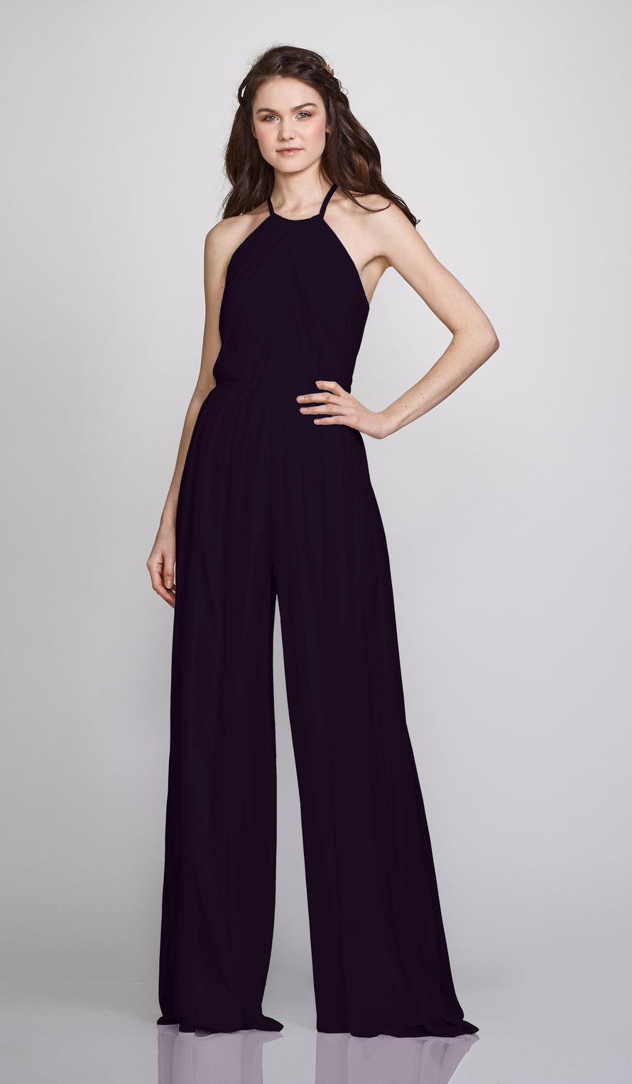 Theia Bridesmaid Jumpsuit Suzanne