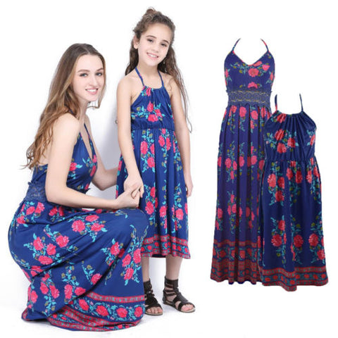 Mother and Daughter Boho Dress