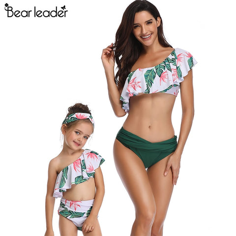 Bear Leader mother and daughter swimsuit