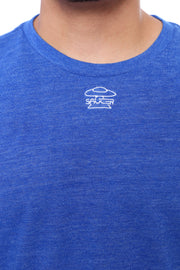 Royal Blue Long Sleeve Tee Detail View