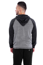 Charcoal/Grey Performance Hoodie Back View