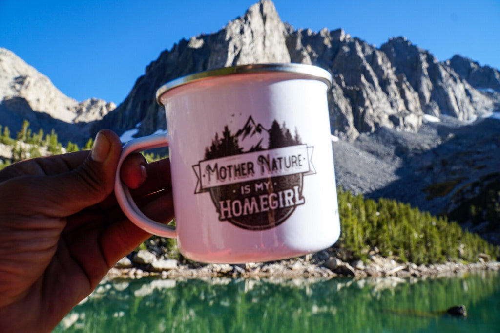 Mother Nature is My Homegirl - Camp Mug