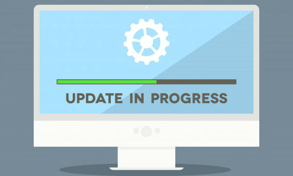 System updates in progress