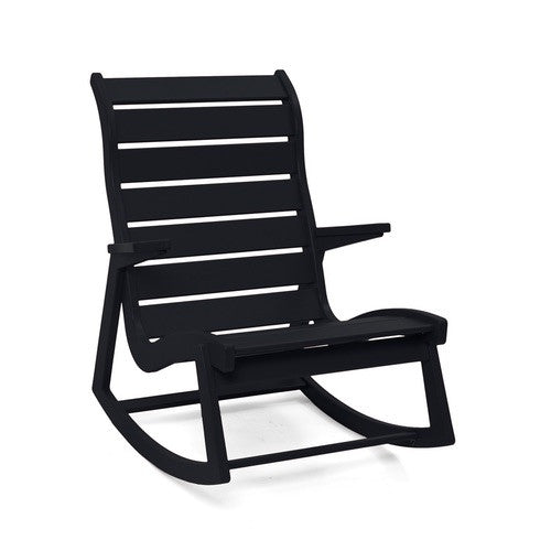 Ralph Rapson Highback Rocker Loll Designs Black