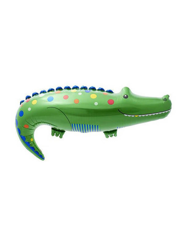 38 inch Crocodile-Foil-Balloon_Jungle Party Ideas