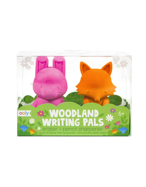 Woodland Erasers & Pencil Sharpeners Set