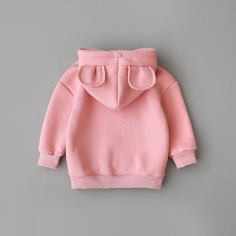 Unisex Baby Cotton Hooded Sweatshirt