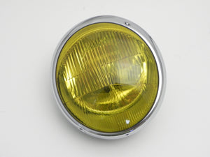 (New) 911/912 Early European Amber Headlight Assembly - 1965-67