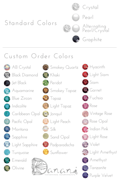 Crystal Color Options