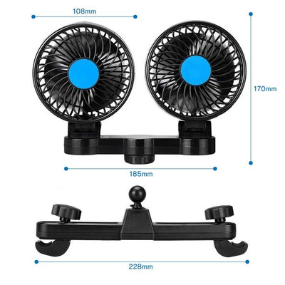 CoolKid™ Backseat Cooling Fan for Kids