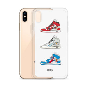 iPhone Case Air Jordan 1 x OW rotationSneakers Wall Star- accessoires sneakers addict