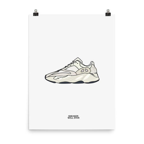 Poster Yeezy 700 AnalogSneakers Wall Star- accessoires sneakers addict
