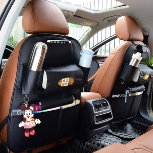 Leather Car Seat Storage | Car Seat Bag | Hanging Bags | Seatback