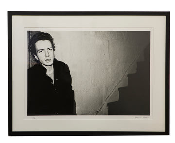 Framed Joe Strummer Photograph