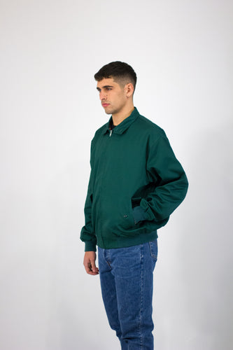 Forest Green Harrington Jacket