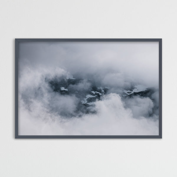 Clouds and Mountains of Norway | Photography Print by Northlandscapes