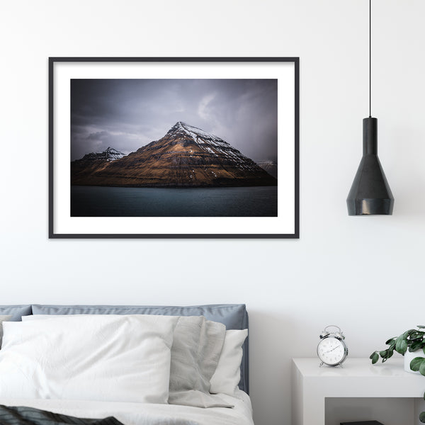Pyramidal Mountain, Faroe Islands | Wall Art Print by Jan Erik Waider
