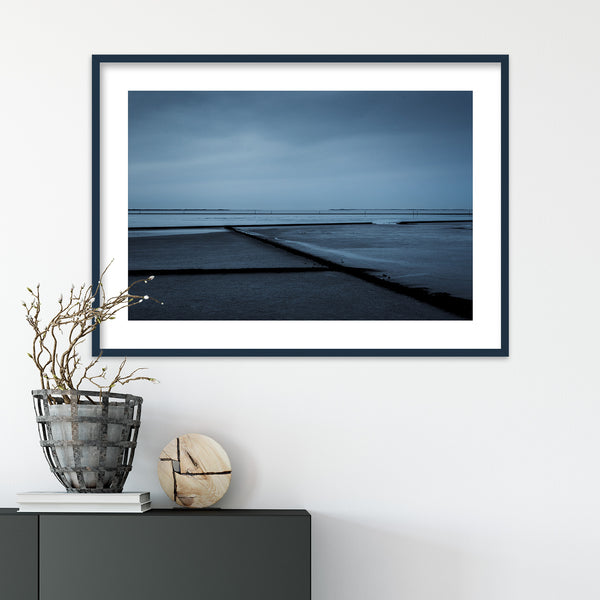 North Sea Tidelands in Germany | Wall Art Print by Jan Erik Waider