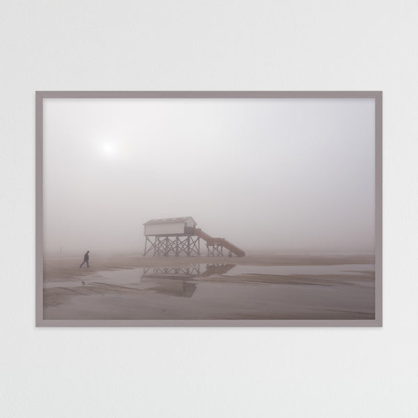 Foggy Day on the North Sea Coast | Photography Print by Northlandscapes
