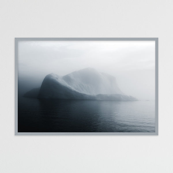 Soft Light over Disko Bay in Greenland with Iceberg | Photography Print by Northlandscapes
