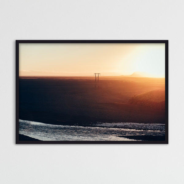 Midnight Sun over Iceland | Photography Print by Northlandscapes