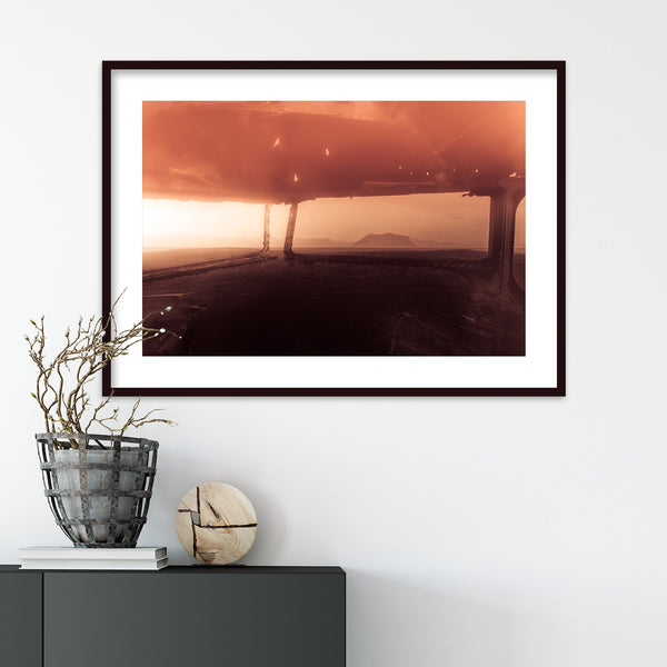Crashed Plane Wreck on Sólheimasandur Beach in Iceland | Wall Art Print by Jan Erik Waider