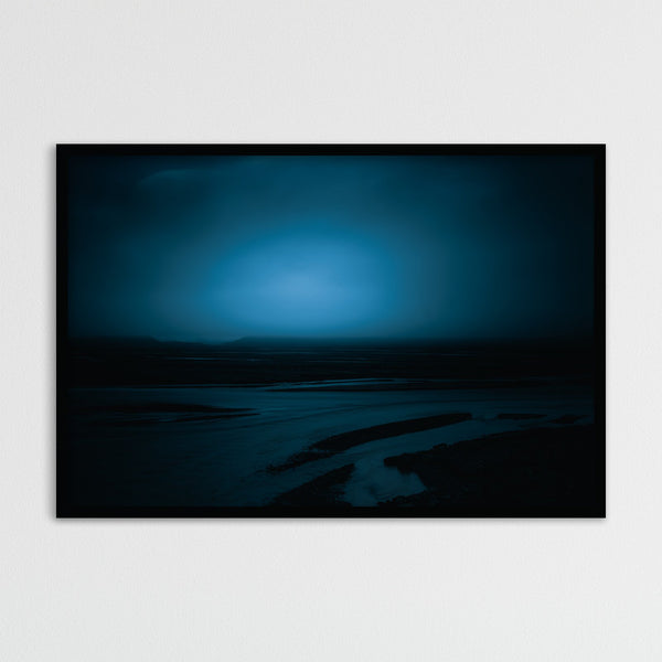 Blue Hour before Dawn in Þórsmörk, Iceland | Photography Print by Northlandscapes