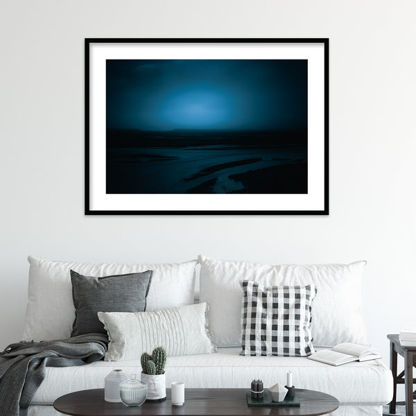 Blue Hour before Dawn in Þórsmörk, Iceland | Wall Art Print by Jan Erik Waider