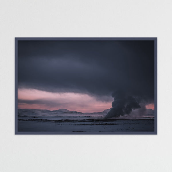 Geothermal Area of Mt. Námafjall in Iceland | Photography Print by Northlandscapes