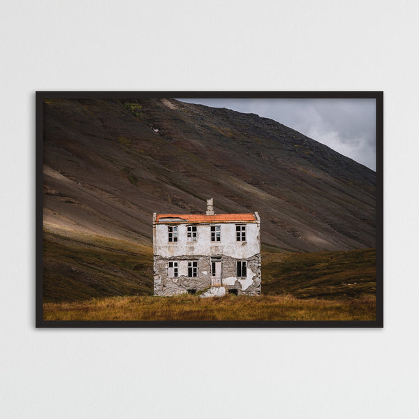 Old Abandoned House in the Westfjords of Iceland | Photography Print by Northlandscapes