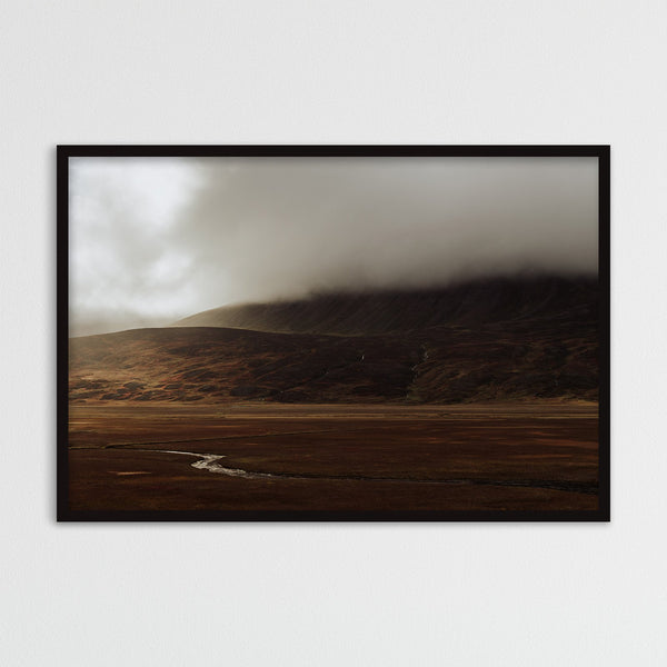 Dramatic Autumn Light over Valley in Iceland | Photography Print by Northlandscapes