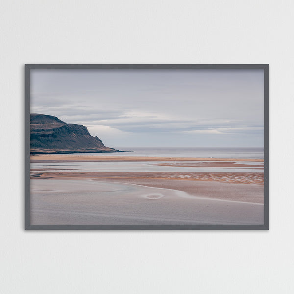 Rauðasandur Beach in the Westfjords of Iceland | Photography Print by Northlandscapes