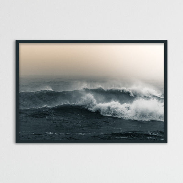 Ocean Waves of Reynisfjara Beach in Iceland | Photography Print by Northlandscapes