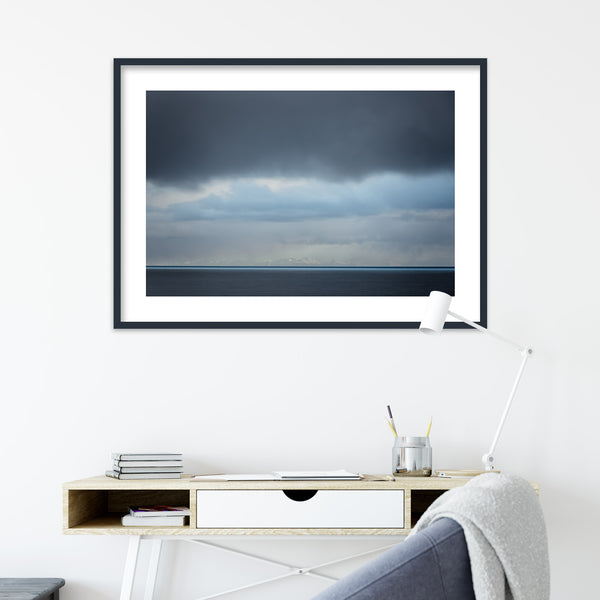 Mountains on the Horizon | Wall Art Print by Jan Erik Waider