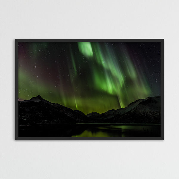 Northern Lights over the Lofoten | Fine Art Photography Print by Northlandscapes
