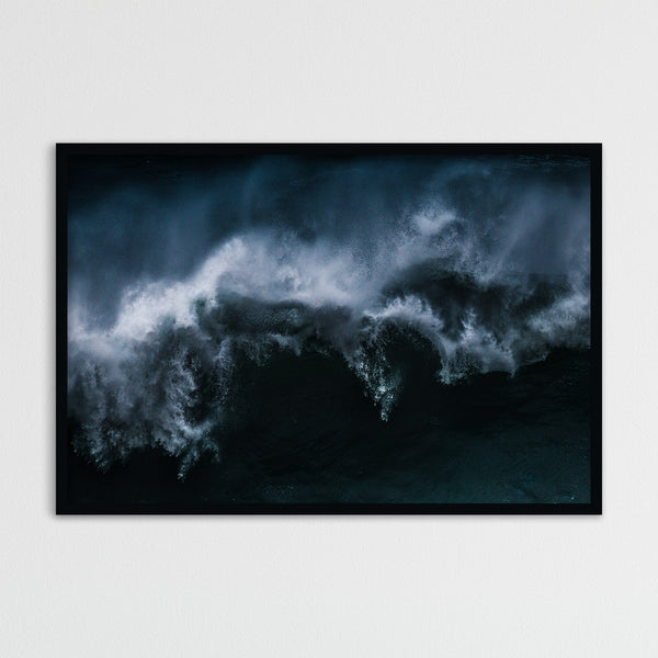 Dramatic Waves of Nazaré in Portugal | Photography Print by Northlandscapes