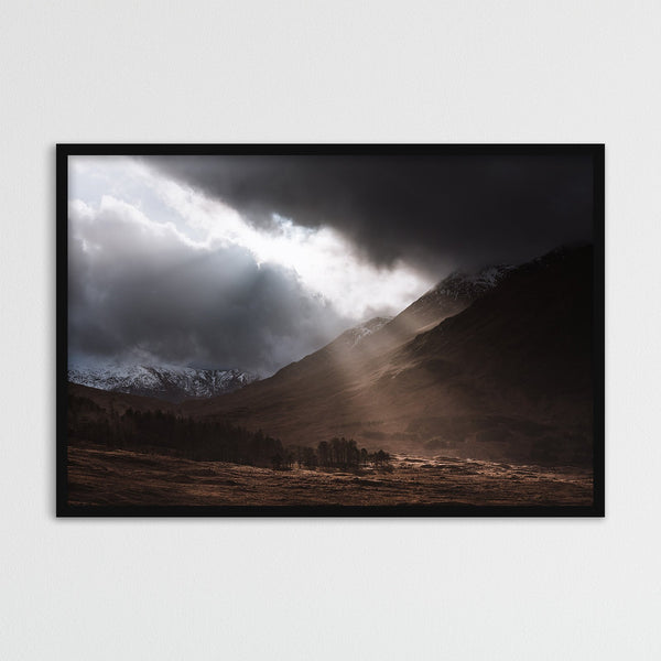 Glen Etive in the Highlands of Scotland | Photography Print by Northlandscapes