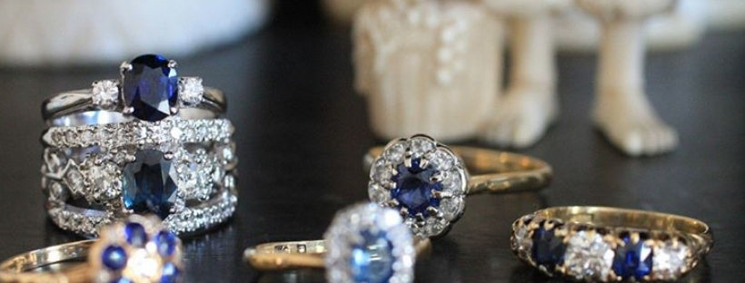 Sapphire rings and jewelry